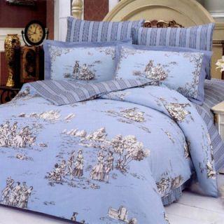 Le Vele Balo 6 Piece Full / Queen Duvet Cover Bed in a Bag Set