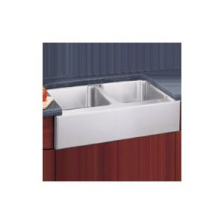 Elkay 20x33 Undermount Double Bowl Kitchen Sink with Optional Faucet