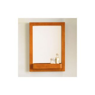 Coastal Collection Cape Cod Series 24 x 35.75 Maple Framed Mirror in
