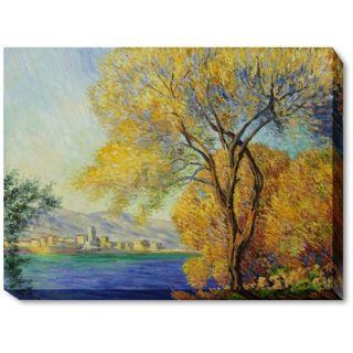 Salis Canvas Art by Claude Monet Impressionism   35 X 31
