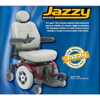 Pride Mobility Jazzy 600 Power Chair   JAZZY600