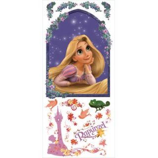 Room Mates Tangled   Rapunzel Peel and Stick Giant Wall Decal