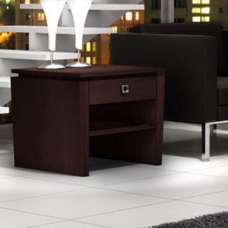 Furnitech Classic Modern End Table   FT26TL W