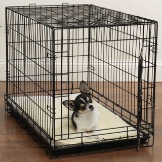 Slumber Pet Double Sided Sherpa Dog Crate Mat in Natural   ZA427 55