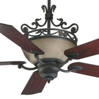 Quorum 56 Turino 5 Blade Ceiling Fan with Wall Control   63565 44