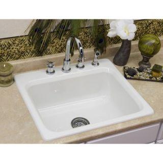 CorStone Advantage Phenix Single Bowl Self Rimming Kitchen Sink   53