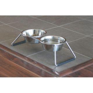 Metal / Stainless Steel Cat Bowls & Feeders