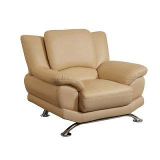 Global Furniture USA Rogers Leather Chair   9908 CAP Series