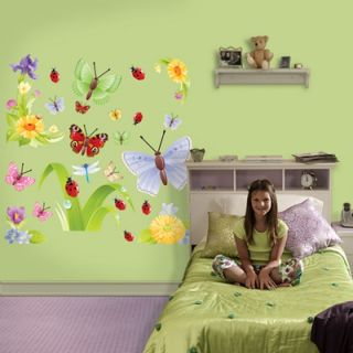 Fathead Butterflies Group Two Wall Graphic   69 00037