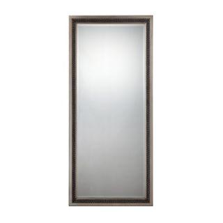 Bassett Mirror Pierce Leaner Mirror in Merlot