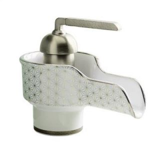 Kohler Bol Single Hole Ceramic Bathroom Faucet with Single Pump Handle