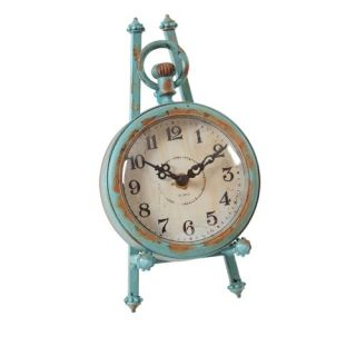 Wilco Round Pocket Watch Table Clock   77 0860
