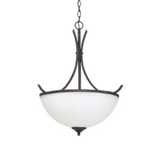 Designers Fountain Sienna 3 Light Inverted Pendant   9307 ORB