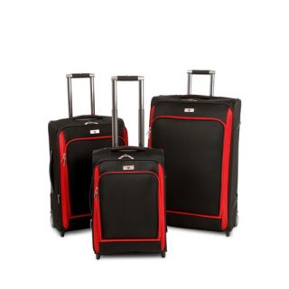 Pieces Expandable Wheeled Luggage Set