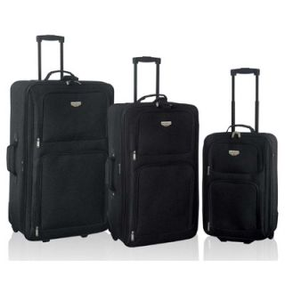Travelers Club Genova 3 Piece Expandable Luggage Set   EVA 80003