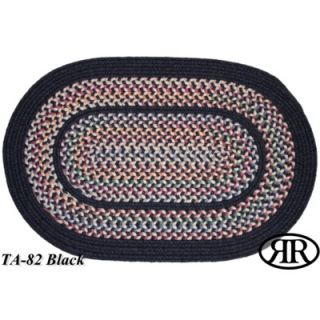 RhodyRug Tapestry Black Multi Rug