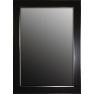 Minka Ambience 79 Rectangular Mirror in Silver and Black   56400