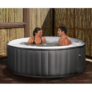 Home and Garden Spas 6 Person 81 Jet Hot Tub with  Auxiliary Output