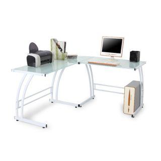 Home Styles Bedford Double Pedestal Computer Desk   88 5531 18