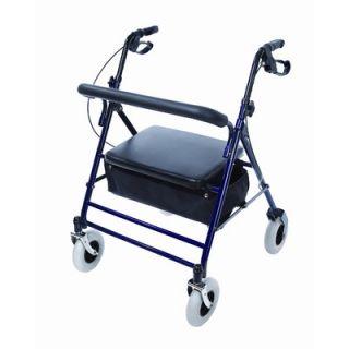 Essential Medical Endurance HD Heavy Duty 4 Wheel Walker