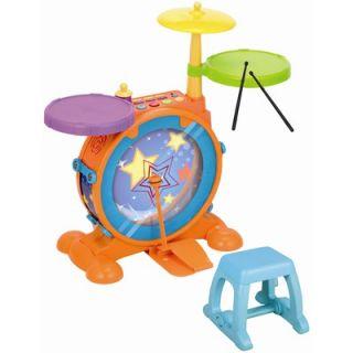 Winfun JR Rockin Band Drum Set in Orange