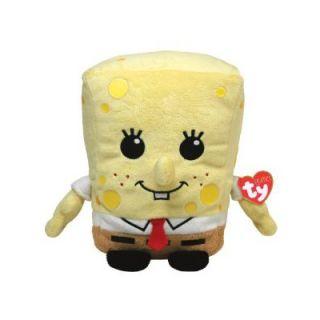 TY Nickelodeon SpongeBob SquarePants Beanie Babies Sponge Bob