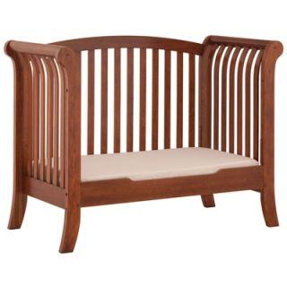 Status Furniture 100 Series Convertible Crib in Mahogany   100 39