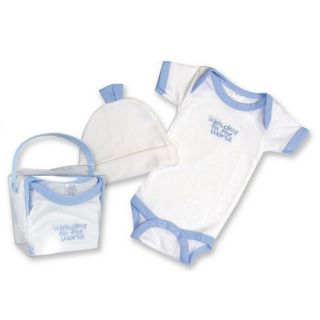 Tadpoles Tadpoles Five Piece Peace Love & Happiness Gift Set in Blue