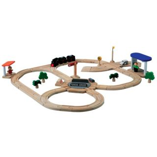 Train Sets and Train Tables Wood Train Sets for Kids