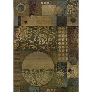 Oriental Weavers Sphinx Genesis Floral Blue/Beige Rug