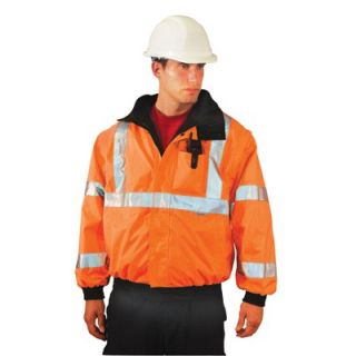 OccuNomix Hi Viz Orange PVC Coated Polyester ANSI Class 3 Occulux