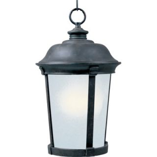 Maxim Lighting Dover Outdoor Hanging Lantern in Bronze   Energy Star