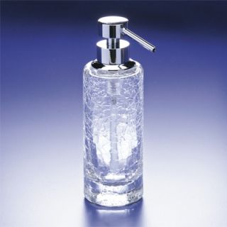 Windisch by Nameeks Accessories Crackled Glass Soap Dispenser