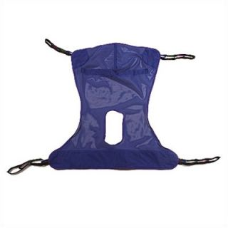 Invacare Mesh Full Body Sling with Commode Opening