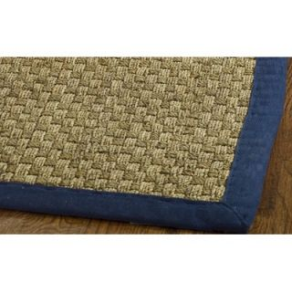 Safavieh Natural Fiber Natural/Blue Rug   NF114E RE