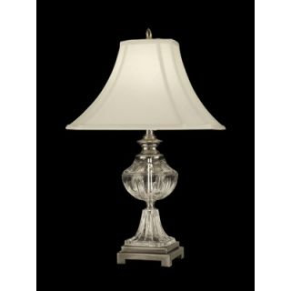 Dale Tiffany 24.5 One Light Crystal Table Lamp in Antique Pewter