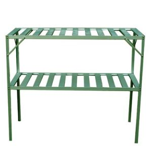 Exaco Free Standing Two Level Staging Shelving   GH GS117