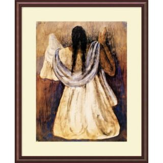 Amanti Art Woman from Tehautepec by Rufino Tamayo, Framed Print Art