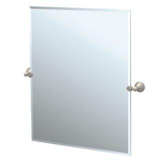 Gatco Laurel Ave Tilting Rectangle Wall Mirror (Beveled)
