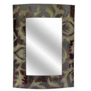 Crestview Metal Leaf Wall Mirror   CVMRA229