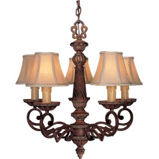 Minka Lavery Belcaro 5 Light Chandelier   955 126