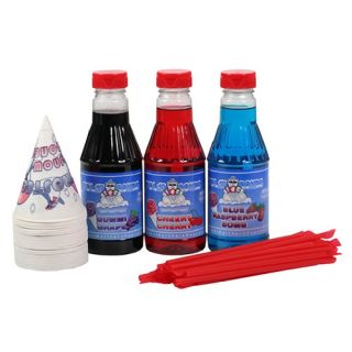 Great Northern Popcorn Sweet Life Premium Blue Raspberry Snow Cone and