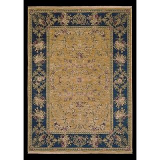 Shaw Rugs Antiquities Vienna Gold/Blue Rug   3X 68700