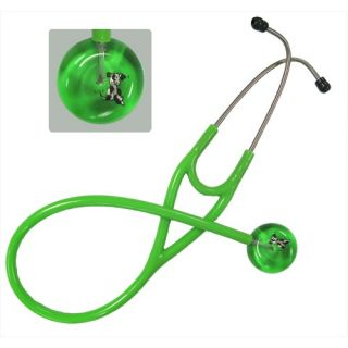 UltraScopes Adult Stethoscope with Bones and Paws Print Design