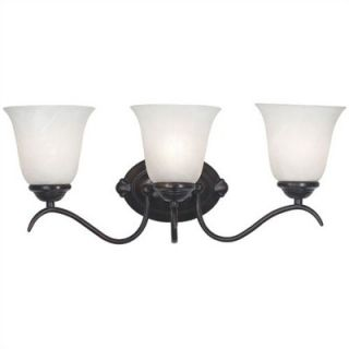 Kenroy Home Medusa Vanity Light in Oil Rubbed Bronze   90213ORB