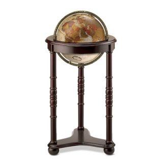 Globes World Globe, Floor, Desk, Illuminated