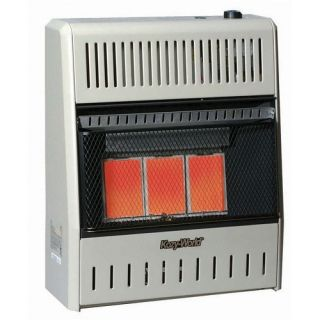 15,000 BTU Propane Infrared Wall Space Heater with Choice of Heat C