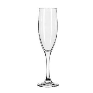 Libbey Embassy Royale Drinking Glasses Tall Flute, 6 Ounce