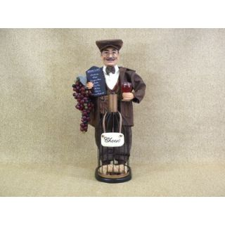 Karen Didion Classic Home Wine Bottle Cork Collector Figurine   ED16