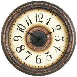 Cooper Classics Potter Wall Clock in Aged Bronze
